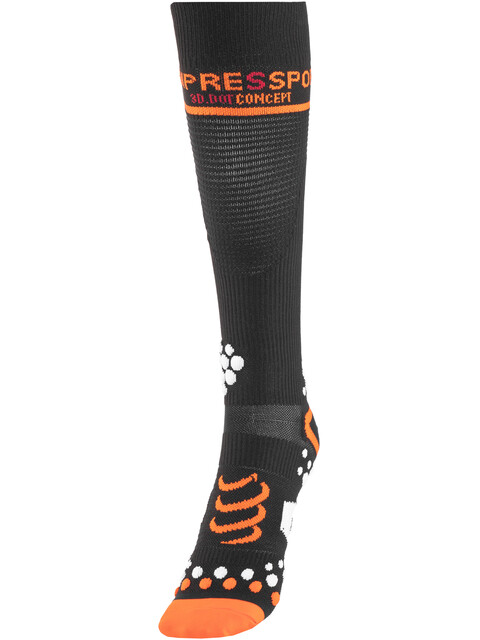 Compressport V2 Full Socks Black
